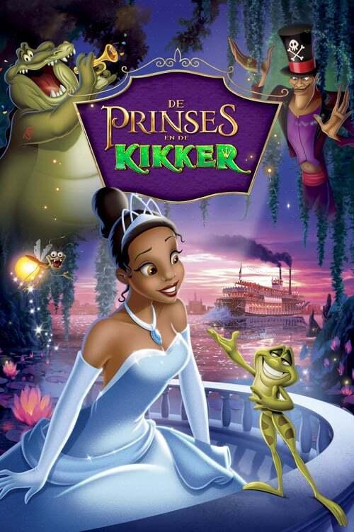 movie cover - De Prinses En De Kikker