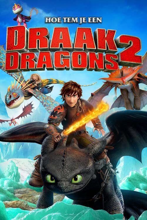 movie cover - Hoe Tem Je Een Draak 2