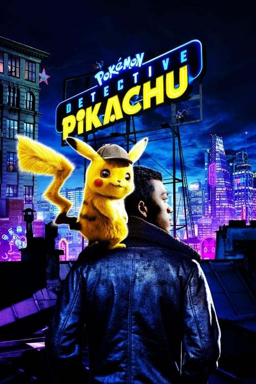 movie cover - Pokémon Detective Pikachu