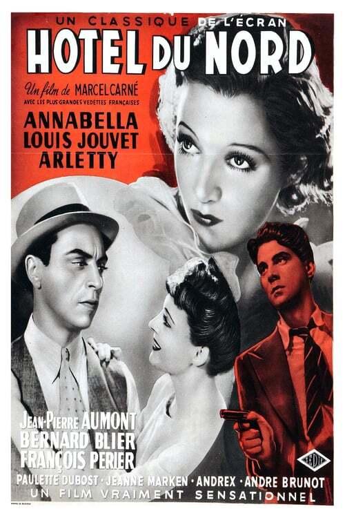 movie cover - Hôtel Du Nord