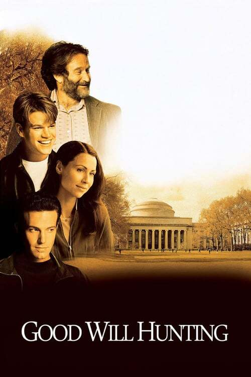 movie cover - Good Will Hunting