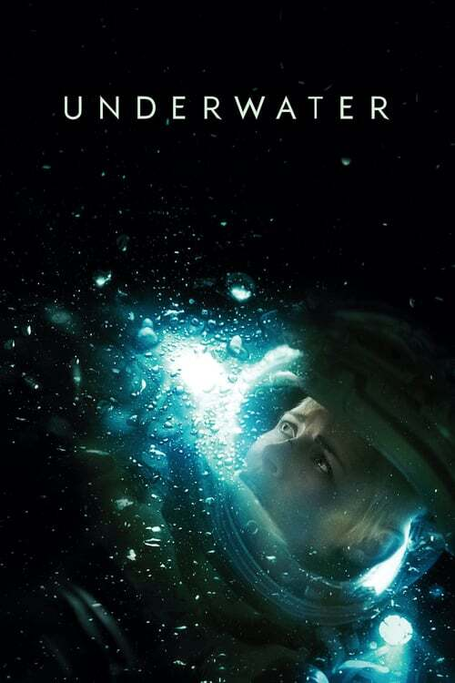 movie cover - Underwater