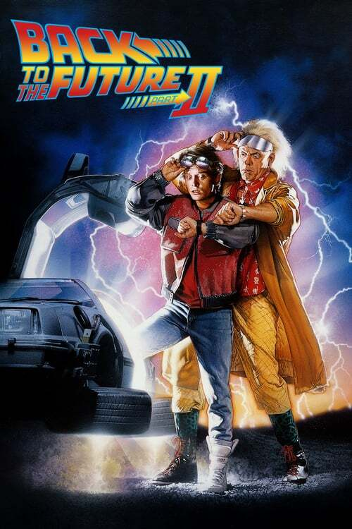 movie cover - Back to the Future Part II