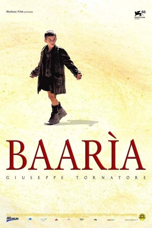 movie cover - Baarìa