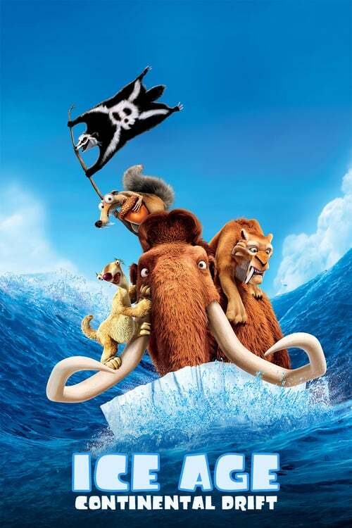 movie cover - Ice Age: Continental Drift