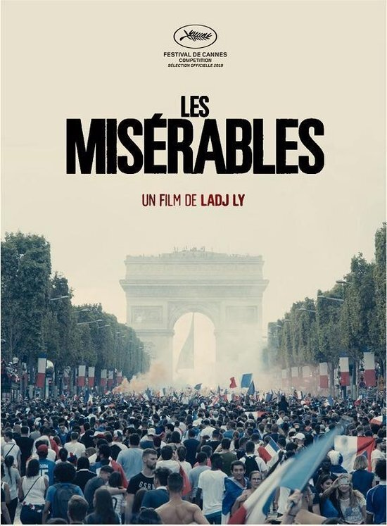movie cover - Les Misérables