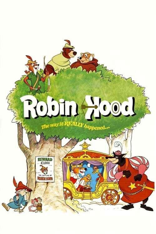 movie cover - Robin Hood