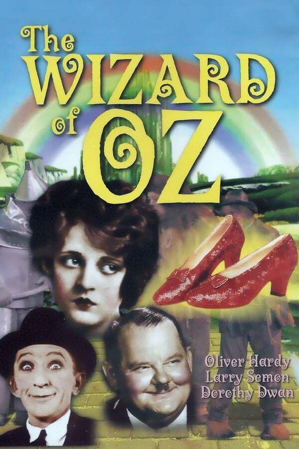 movie cover - The Wizard of Oz