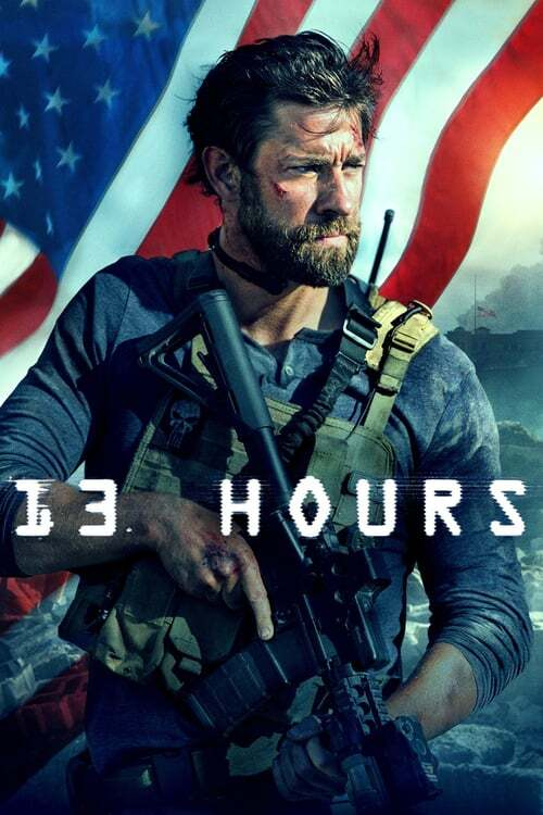 movie cover - 13 Hours: The Secret Soldiers Of Benghazi