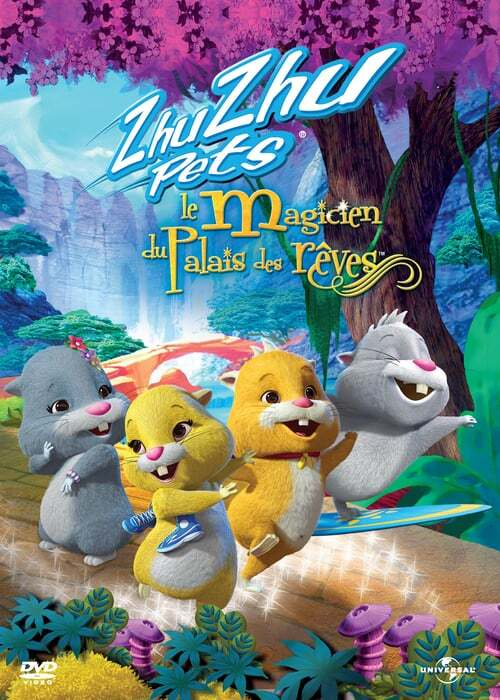 movie cover - Zhu Zhu Pets: De Tovenaar Van Het Paleis Van Zhu