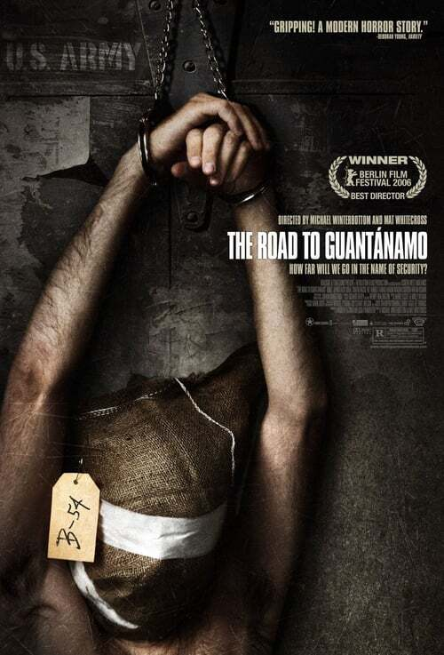 movie cover - The Road To Guantanamo