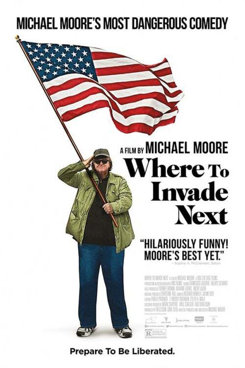 movie cover - Where To Invade Next