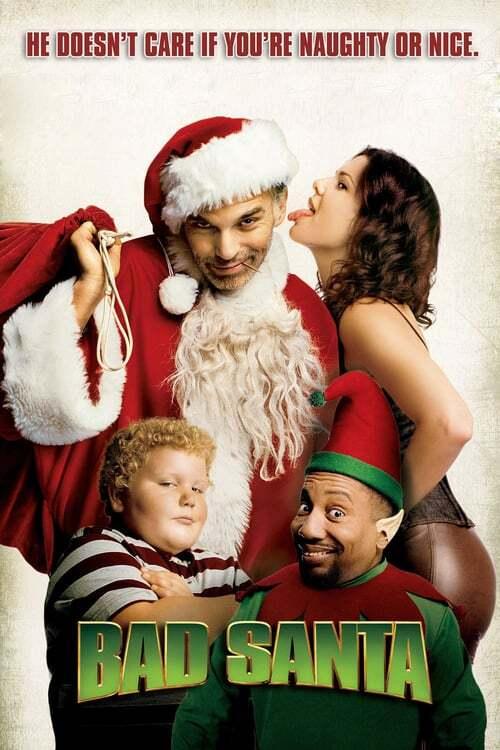 movie cover - Bad Santa