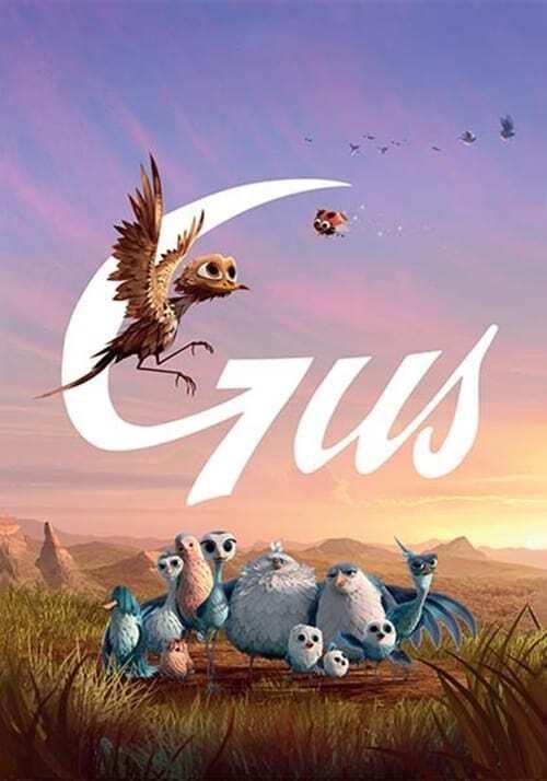 movie cover - Gus - Petit oiseau, grand voyage