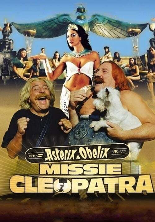 movie cover - Astérix Et Obélix: Missie Cleopatra
