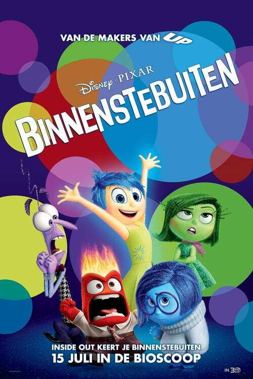movie cover - Binnenstebuiten