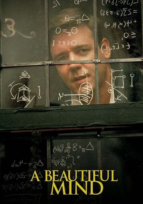 movie cover - A Beautiful Mind