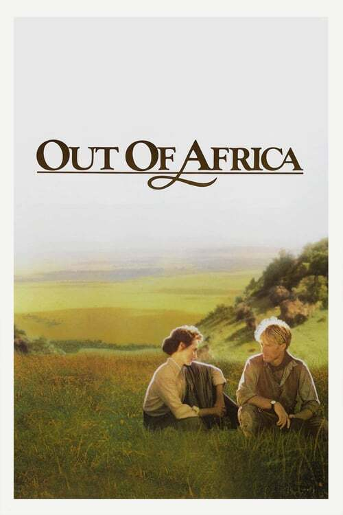 movie cover - Out Of Africa