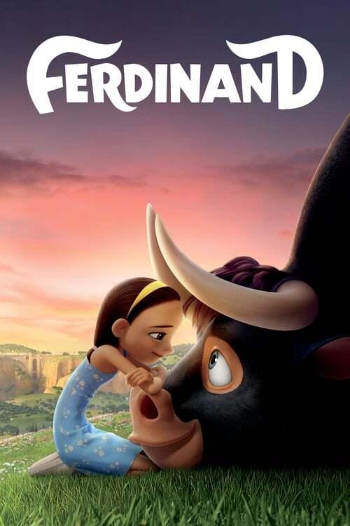 movie cover - Ferdinand