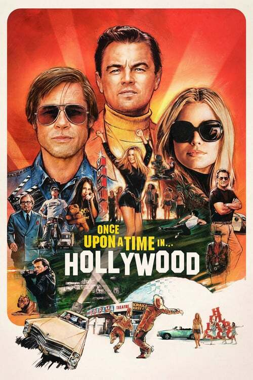 movie cover - Once Upon A Time... In Hollywood