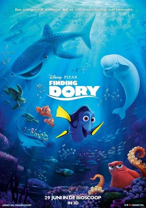 movie cover - Finding Dory