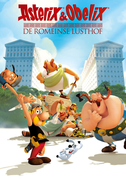 movie cover - Asterix & Obelix: De Romeinse Lusthof
