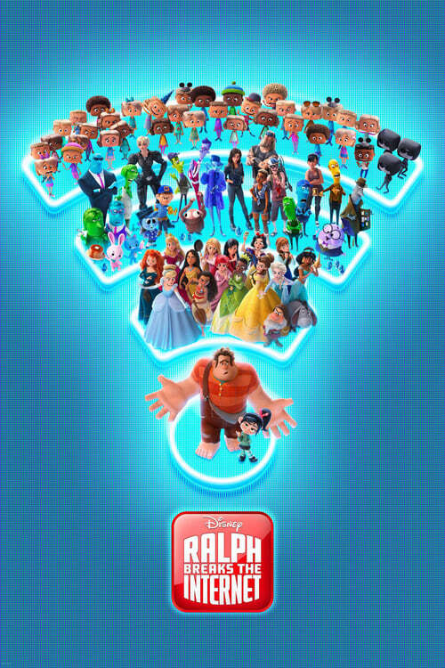 movie cover - Ralph Breaks The Internet