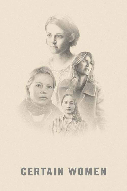 movie cover - Certain Women