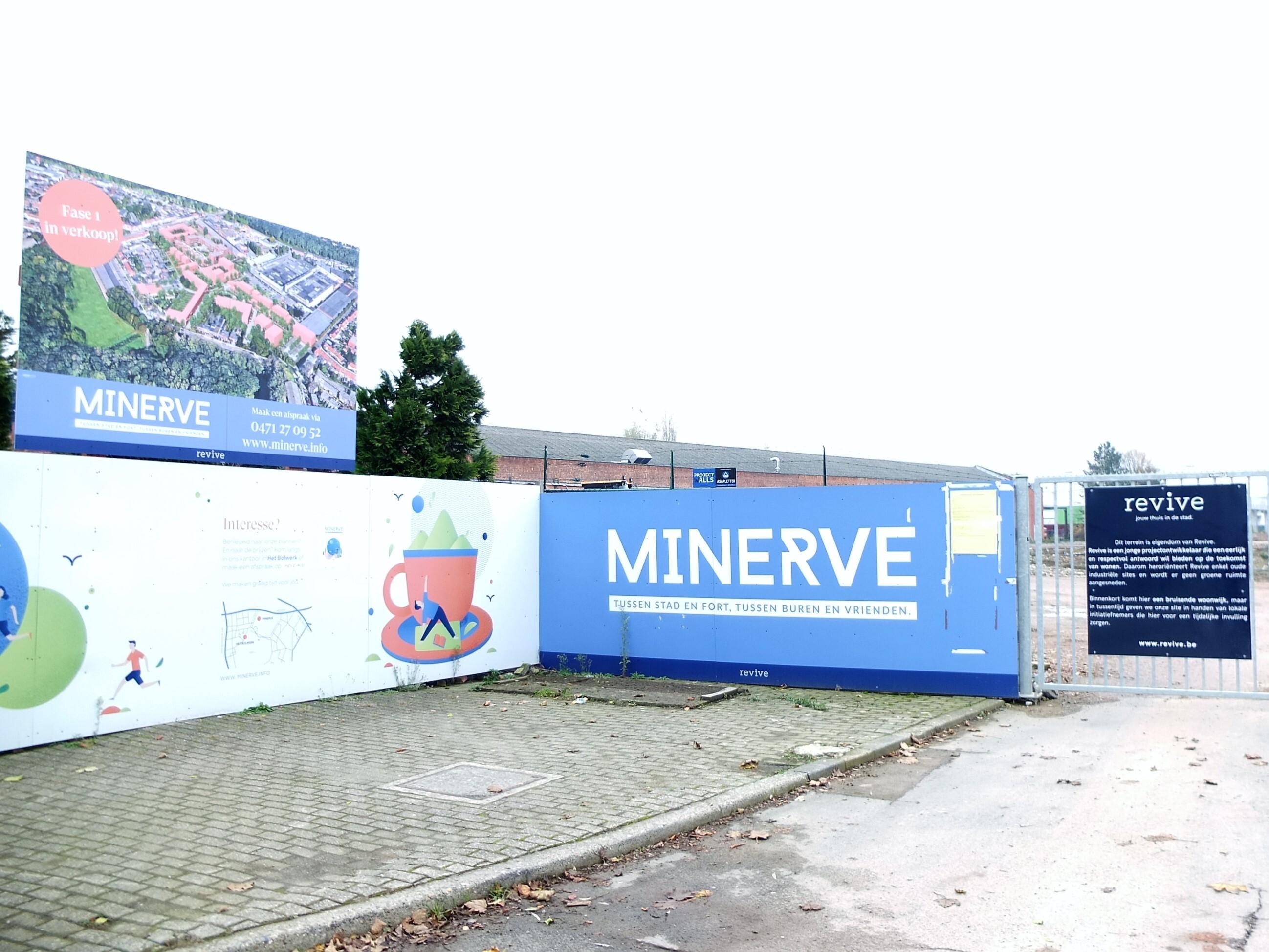 Het warmtenet aangelegd wordt aangelegd op de Minerve-site waar projectontwikkelaar Revive de gemengde woonwijk bouwt