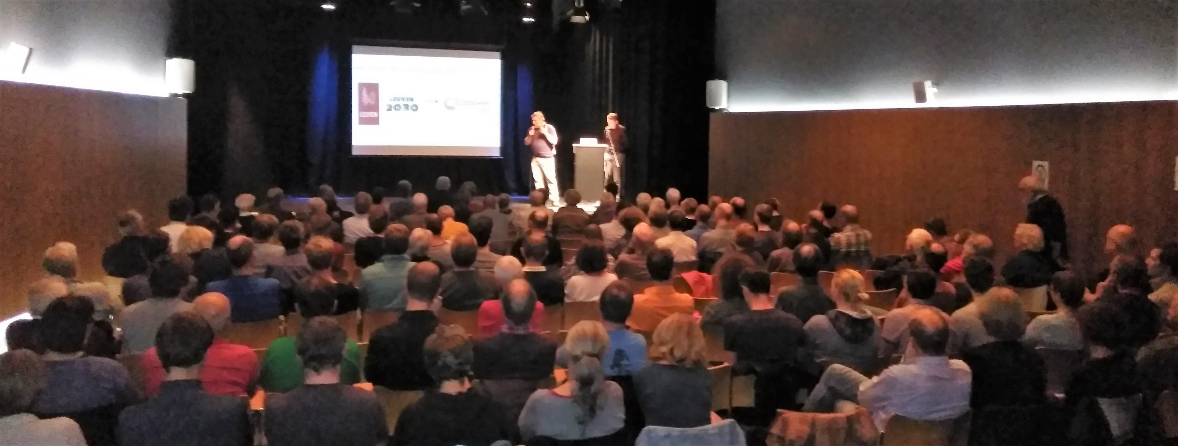 Foto: Energiecafé in Leuven