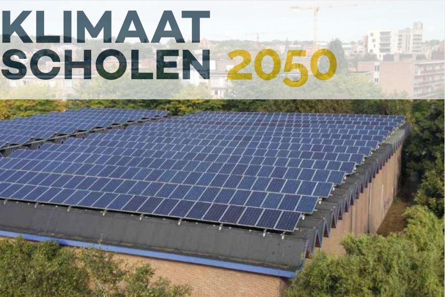 Klimaatscholen2050 mikt op een slimme combinatie van energiebesparing en lokale productie.