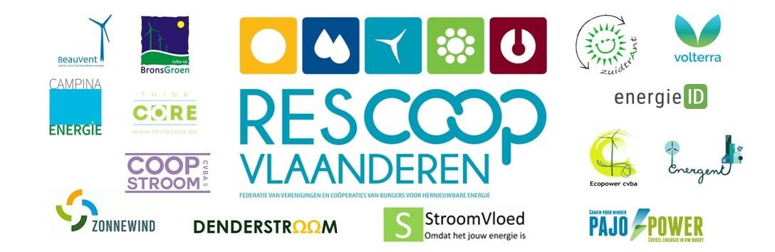REScoop Vlaanderen - federatie voor burgercoöperaties voor hernieuwbare energie