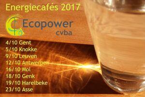 Afbeelding bij Kom in oktober naar een Ecopower Energiecafé in uw buurt