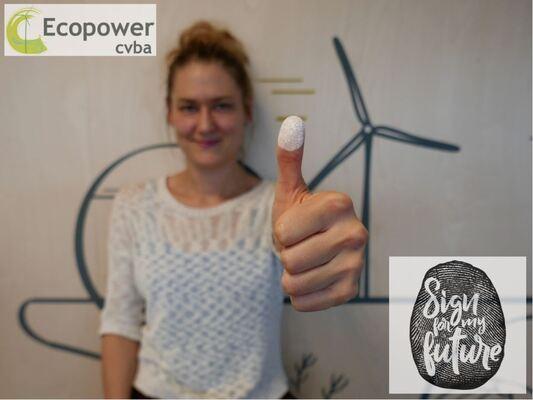 Afbeelding bij Ecopower tekent voor het klimaat. U ook?