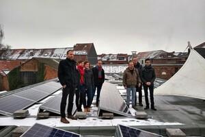 Afbeelding bij Klimaatscholen 2050 realiseert in Leuven het eerste zonneproject bij basisschool De Ark