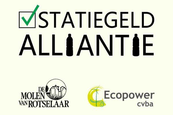 Afbeelding bij Ecopower en de Molen van Rotselaar steunen de Statiegeldalliantie