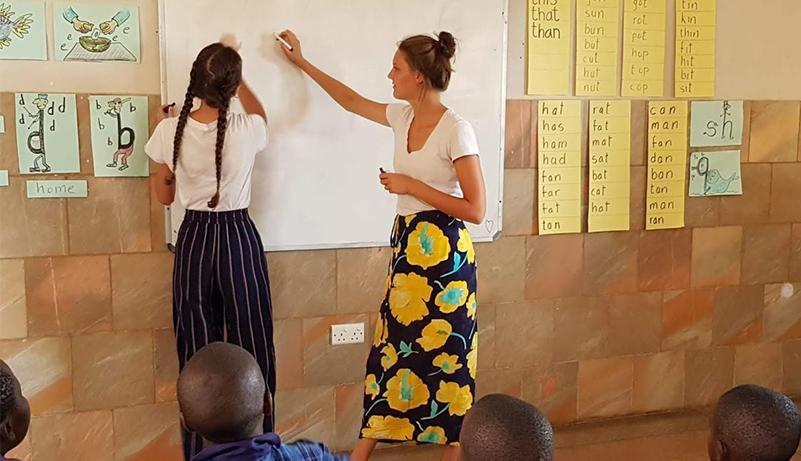 Individueel vrijwilligerswerk in een Don Boscowerking
