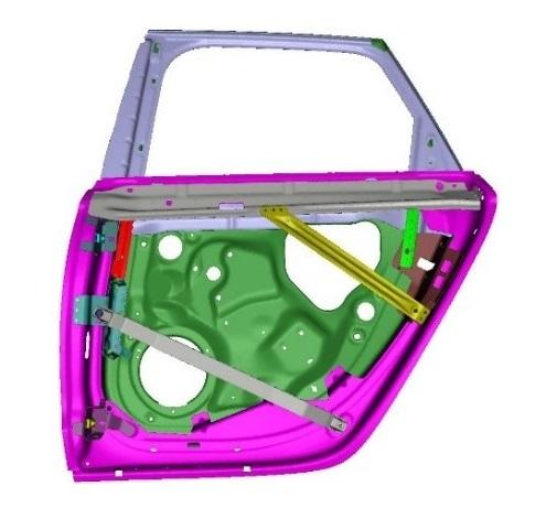 Elsyca CorrosionMaster - Car door analysis
