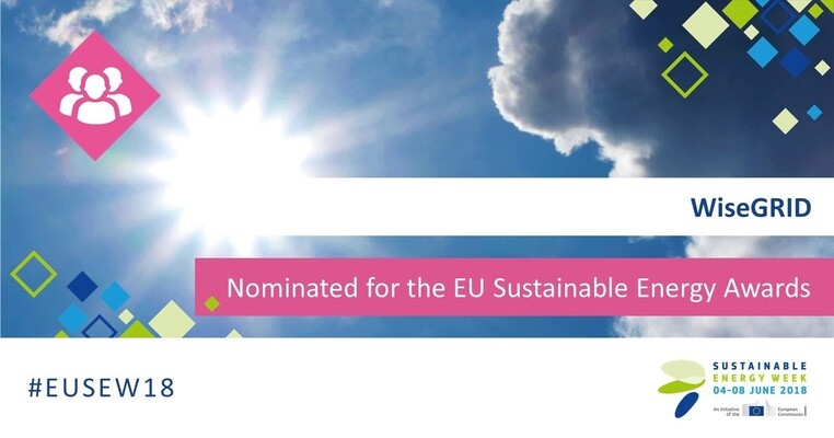 Afbeelding bij Wisegrid nominated for EU Sustainable Energy Week Awards