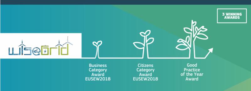 Afbeelding bij EUSEW Awards: Wisegrid wins twice!