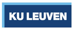 University Leuven, Belgium