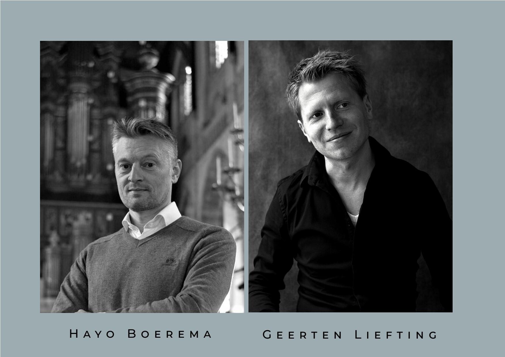 Hayo Boerema en Geerten Liefting