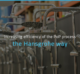 Image of Increasing efficiency of the PoP process: the Hansgrohe way