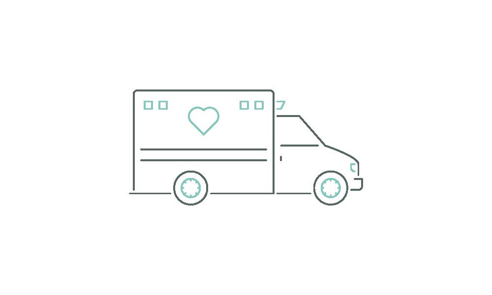 Ziekenwagen icoon