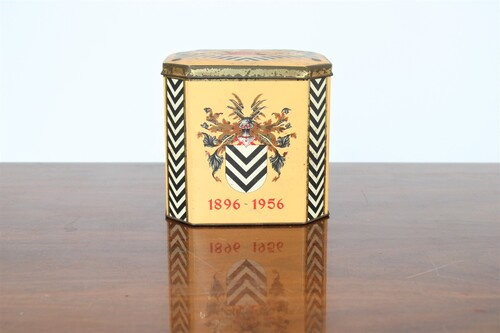 thumbnails bij product old coffee tin Rombouts