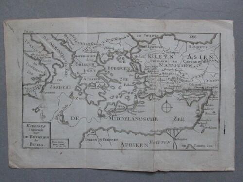 thumbnails bij product carte de la méditerranée, 18ième