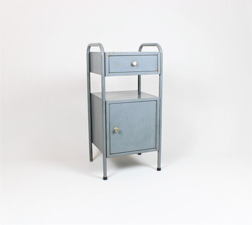 thumbnails bij product small industrial cabinet with drawer