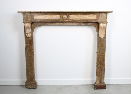 thumbnails bij product Habillage de cheminée ancien en bois