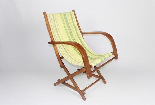 thumbnails bij product chaise de camping vintage