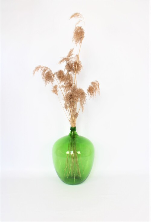thumbnails bij product grote groene Dame Jeanne